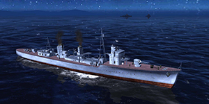 Thủy Chiến 3D mobile – Khu trục hạm Yukikaze