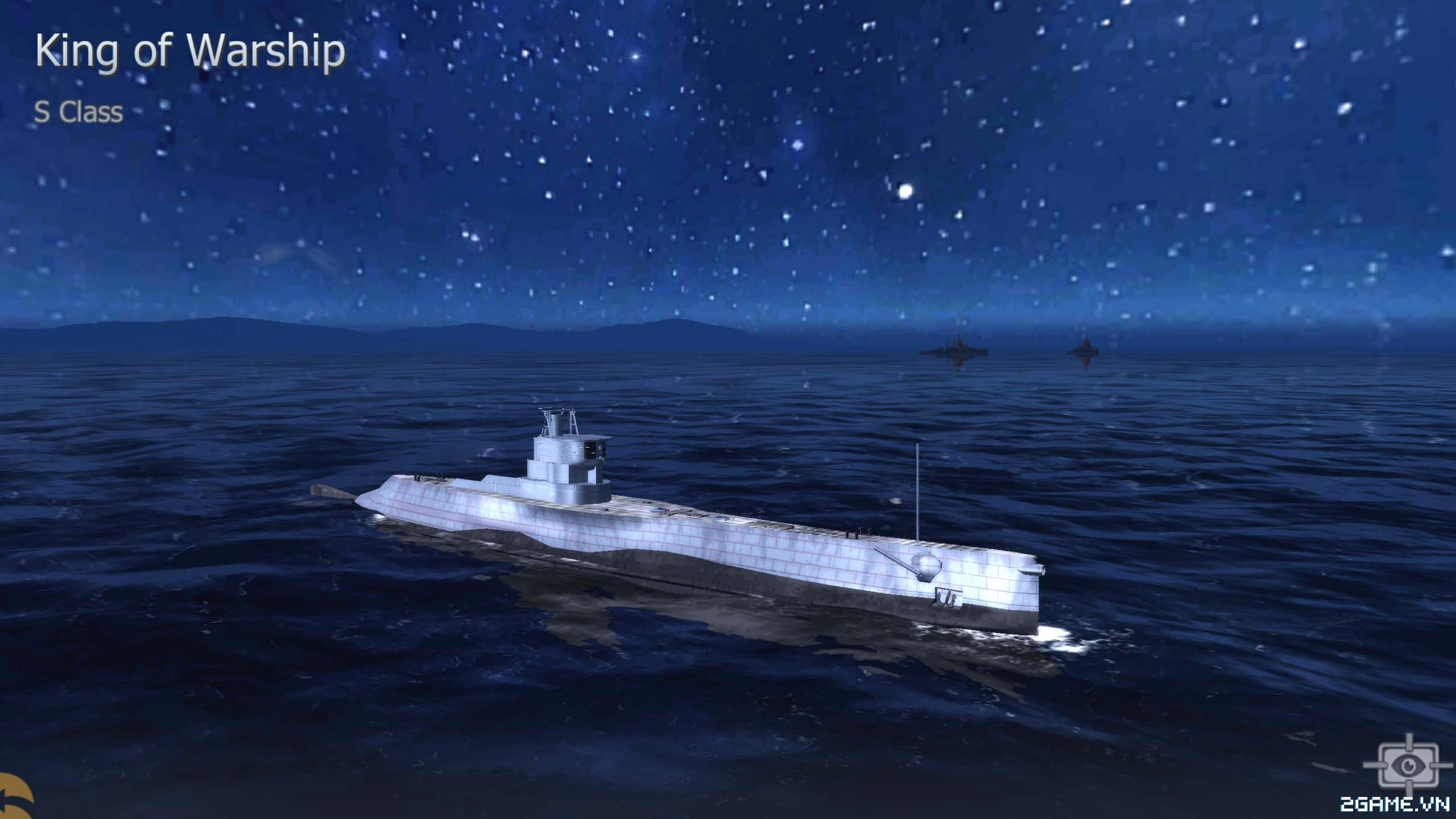 Thủy Chiến 3D mobile - Tàu ngầm S Class 0