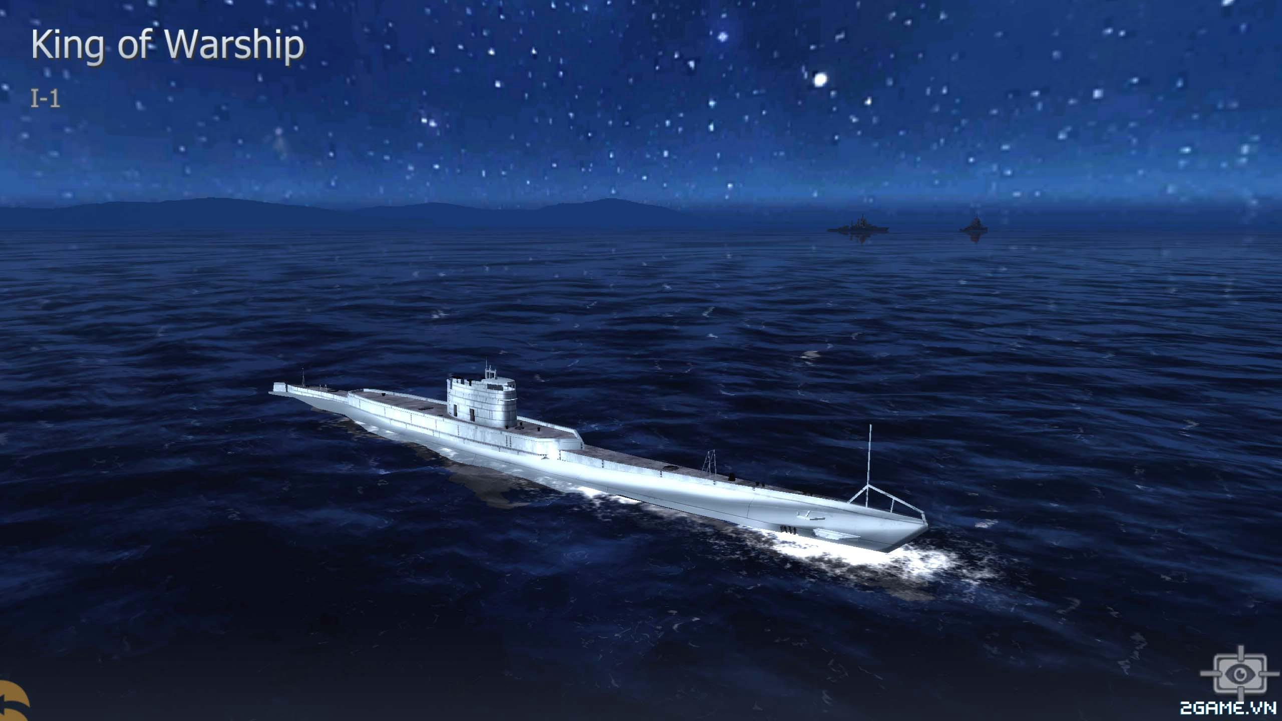 Thủy Chiến 3D mobile - Tàu ngầm I-1 0
