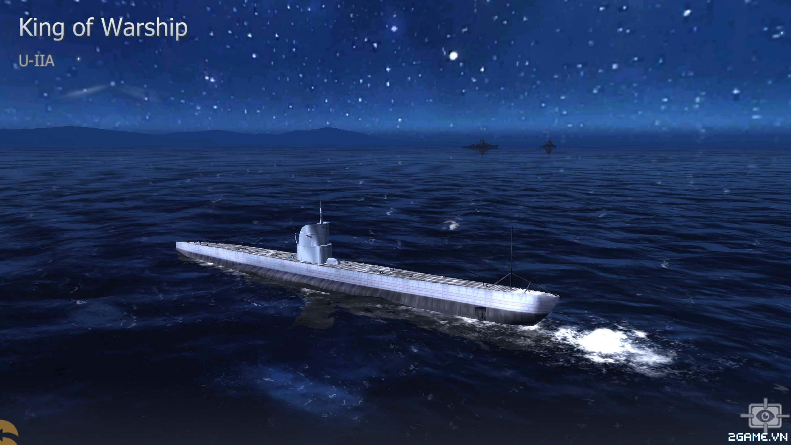 Thủy Chiến 3D mobile - Tàu ngầm U-IIA 0