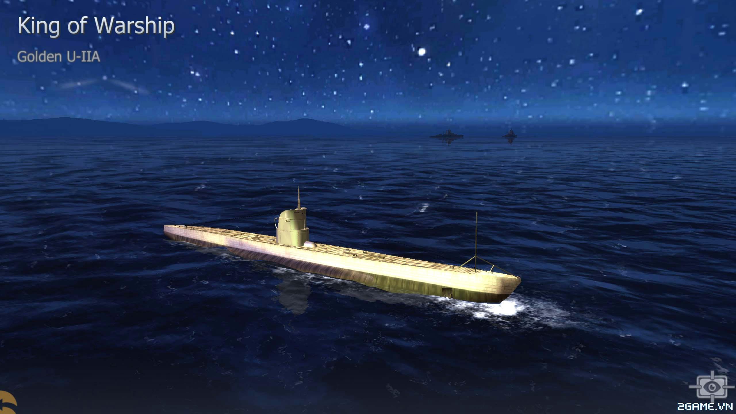 Thủy Chiến 3D mobile - Tàu ngầm Golden U-IIA 0
