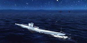 Thủy Chiến 3D mobile – Tàu ngầm I-1