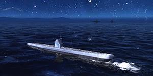 Thủy Chiến 3D mobile – Tàu ngầm U-IIA