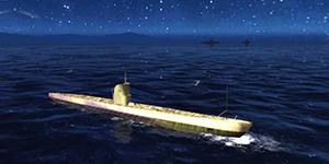 Thủy Chiến 3D mobile – Tàu ngầm Golden U-IIA