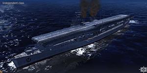 Thủy Chiến 3D mobile – Tàu sân bay Independent class