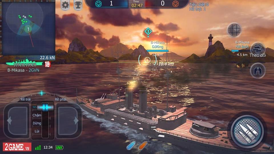 Cảm nhận Thủy Chiến 3D Mobile – Đủ sức trở thành một game Mobile eSports đích thực 11