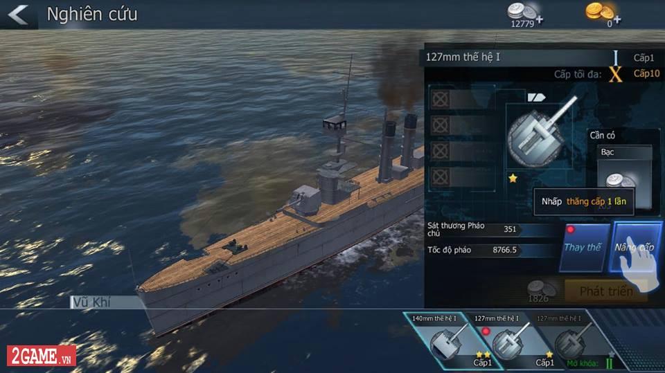 Cảm nhận Thủy Chiến 3D Mobile – Đủ sức trở thành một game Mobile eSports đích thực 4