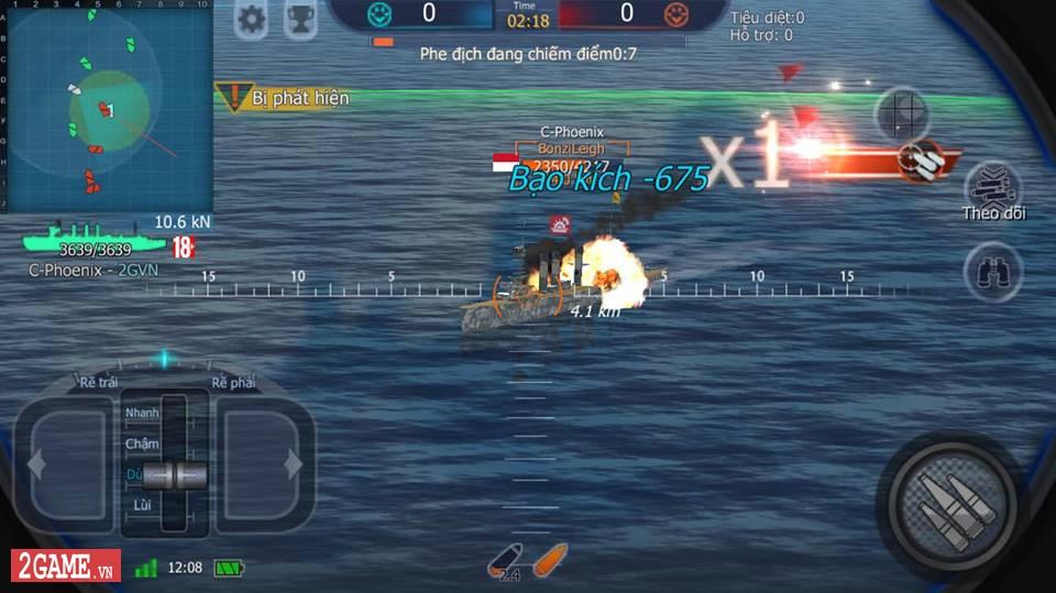 Cảm nhận Thủy Chiến 3D Mobile – Đủ sức trở thành một game Mobile eSports đích thực 15