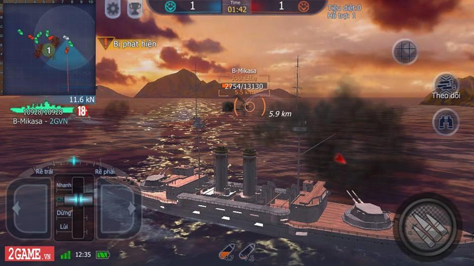 Cảm nhận Thủy Chiến 3D Mobile – Đủ sức trở thành một game Mobile eSports đích thực 1