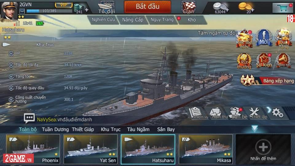 Cảm nhận Thủy Chiến 3D Mobile – Đủ sức trở thành một game Mobile eSports đích thực 3