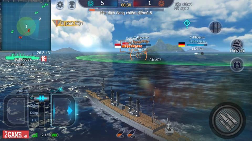 Cảm nhận Thủy Chiến 3D Mobile – Đủ sức trở thành một game Mobile eSports đích thực 7