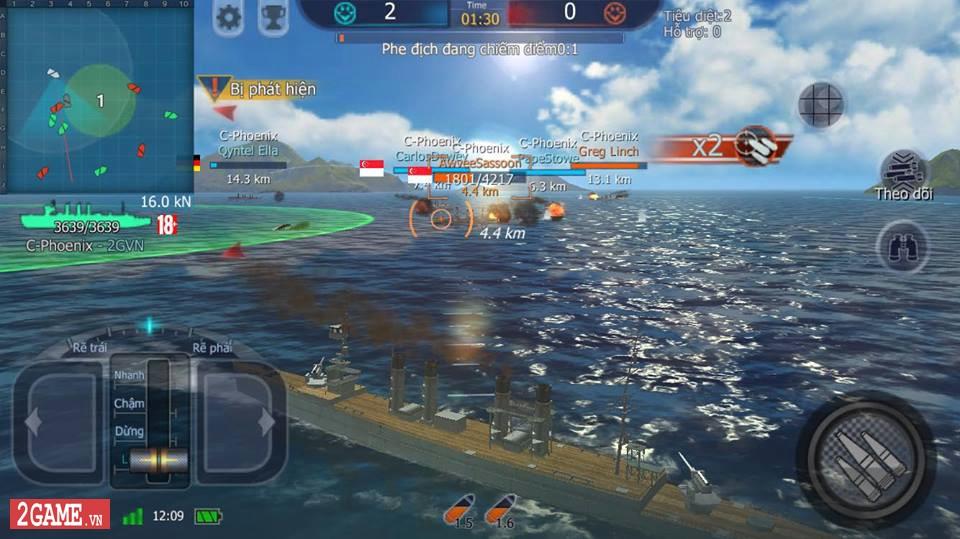 Cảm nhận Thủy Chiến 3D Mobile – Đủ sức trở thành một game Mobile eSports đích thực 9