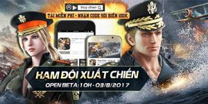 Game thủ đã có thể thoải mái chơi Thủy Chiến 3D Mobile hoàn toàn miễn phí
