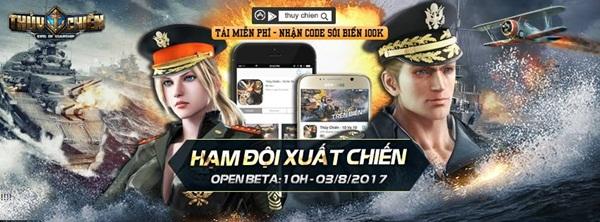Game thủ đã có thể thoải mái chơi Thủy Chiến 3D Mobile hoàn toàn miễn phí 0