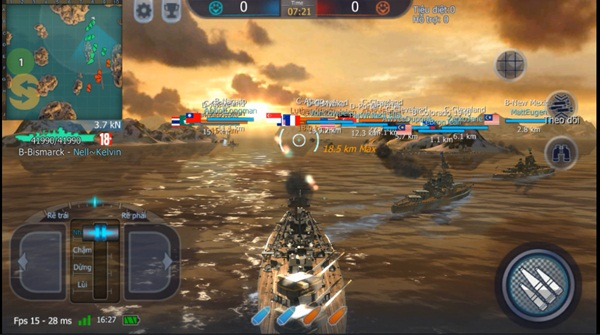 Game thủ đã có thể thoải mái chơi Thủy Chiến 3D Mobile hoàn toàn miễn phí 3