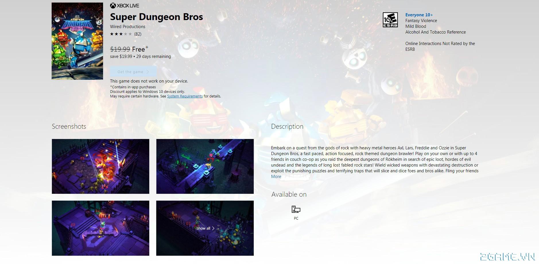 Super Dungeon Bros - Game nhập vai chặt chém kiểu là lạ ngồ ngộ cho chơi miễn phí 5