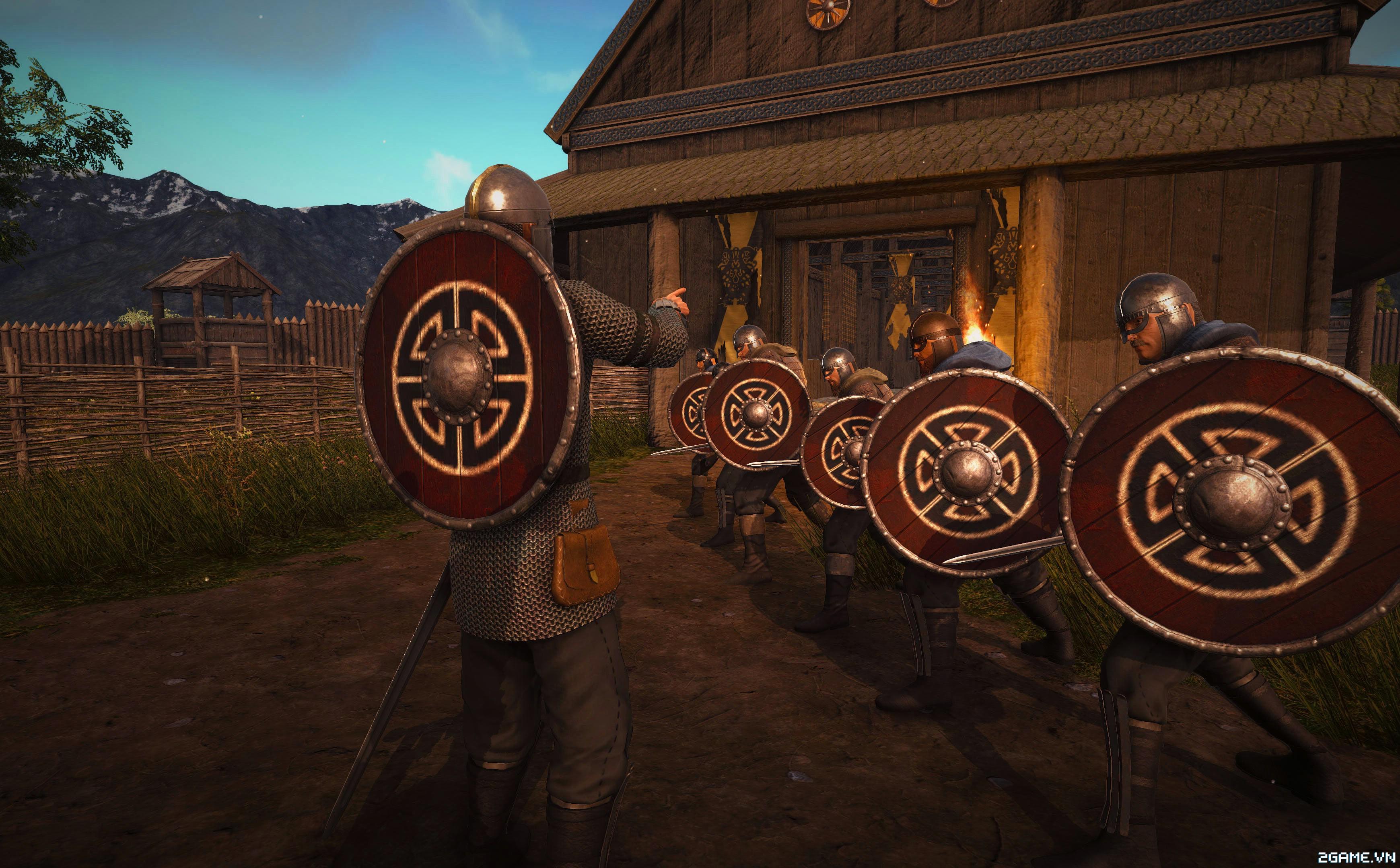 Valnir Rok – Game sinh tồn chủ đề Vikings tiến hành thử nghiệm 2