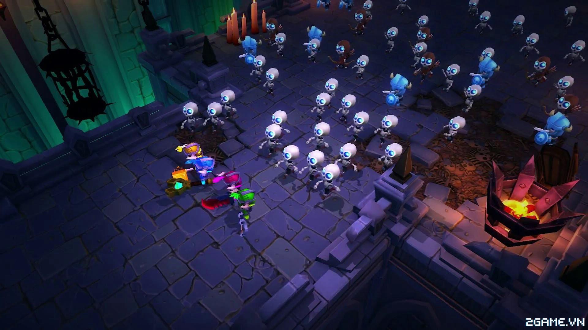 Super Dungeon Bros - Game nhập vai chặt chém kiểu là lạ ngồ ngộ cho chơi miễn phí 0