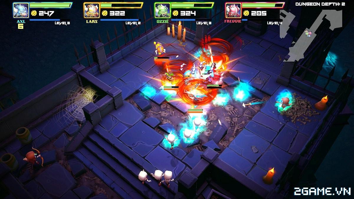 Super Dungeon Bros - Game nhập vai chặt chém kiểu là lạ ngồ ngộ cho chơi miễn phí 2