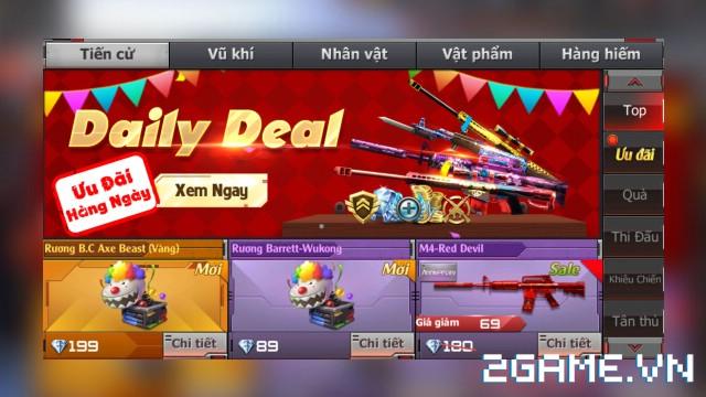 Crossfire Legends - Cửa hàng hôm nay: M4-Red Devil lên kệ gói 7 ngày, mở bán rương B.C Axe-Beast & rương Barrett-Wukong 0