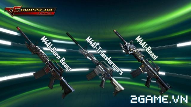 Crossfire Legends - M4A1-Born Beast có gì khác M4A1-Transformers & M4A1-Beast? 0