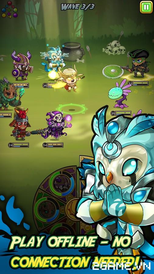 Dragon's Watch - Game nhập vai đấu thẻ tướng có tạo hình nhân vật vô cùng đáng yêu 2