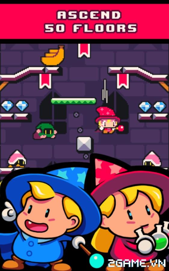 Drop Wizard Tower – Game mobile đi cảnh nhẹ nhàng dành cho mọi lứa tuổi 4