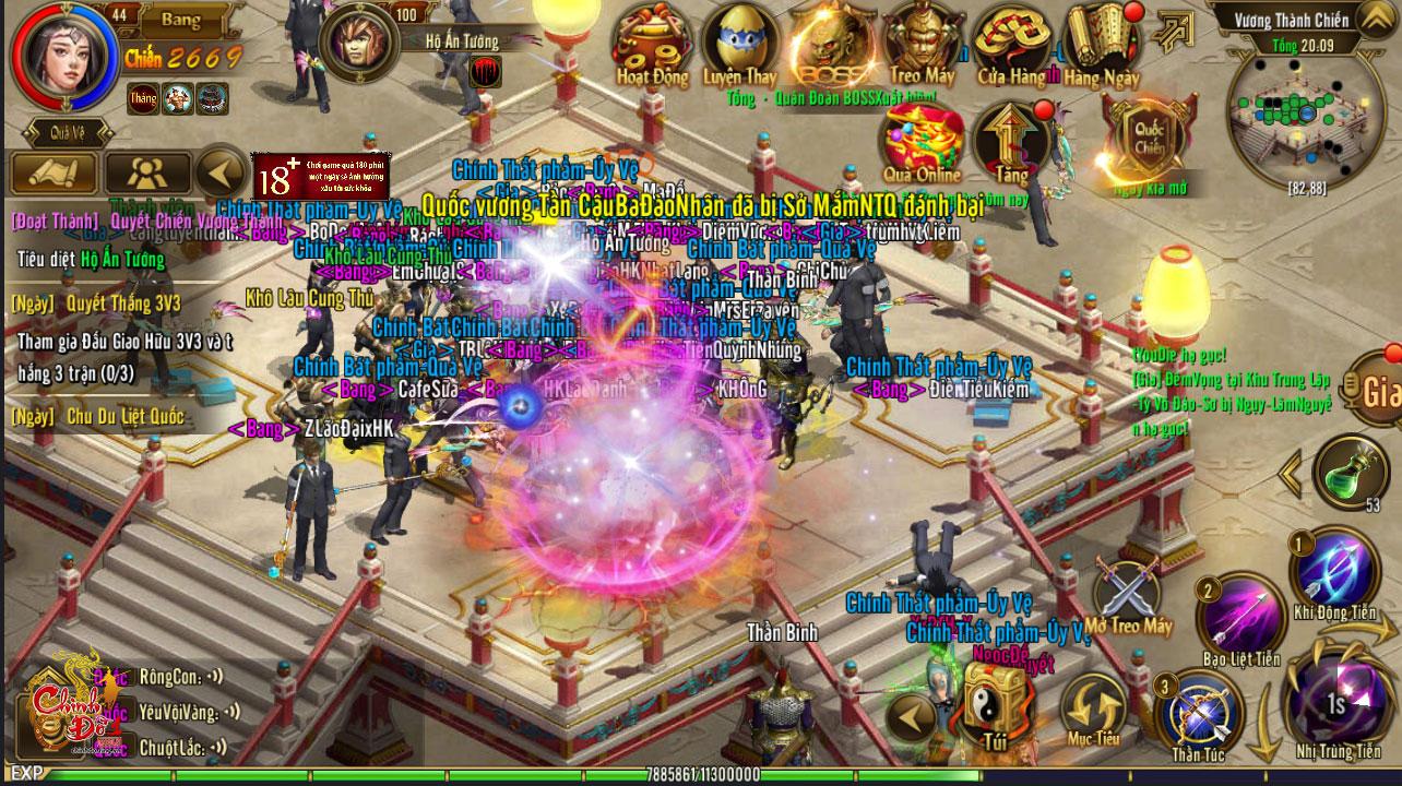 Chinh Đồ 1 Mobile đã hoàn tất khắc phục lỗi âm thanh trong game 3