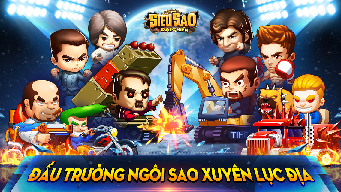 Game mobile Siêu Sao Đại Chiến ấn định ngày ra mắt tại Việt Nam 0