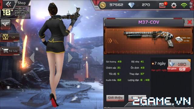 Crossfire Legends - Giá ngon mỗi ngày (05.08): M37-COV lên kệ chỉ 69 gem 0