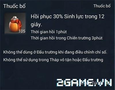 Blade and Soul Việt Nam - 2 vật phẩm hồi máu cơ bản nhất 1