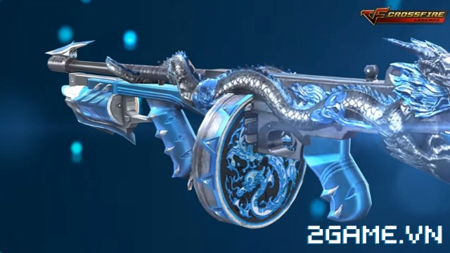 Crossfire Legends - Nạp 1 gem có ngay súng VIP Thompson-Ice Dragon dùng thử 0
