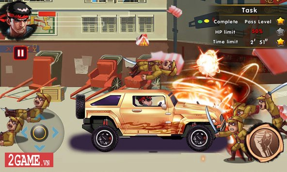 Fatal Fighting - Game nhập vai đi cảnh đánh đấm cực đã theo phong cách Street Fighter 0