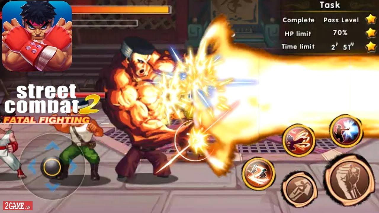Fatal Fighting - Game nhập vai đi cảnh đánh đấm cực đã theo phong cách Street Fighter 1