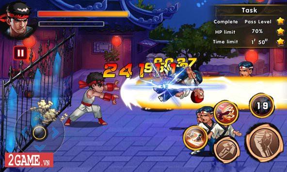 Fatal Fighting - Game nhập vai đi cảnh đánh đấm cực đã theo phong cách Street Fighter 2