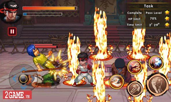 Fatal Fighting - Game nhập vai đi cảnh đánh đấm cực đã theo phong cách Street Fighter 3