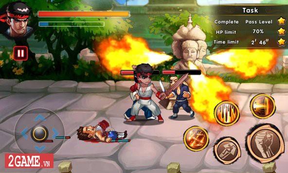 Fatal Fighting - Game nhập vai đi cảnh đánh đấm cực đã theo phong cách Street Fighter 4