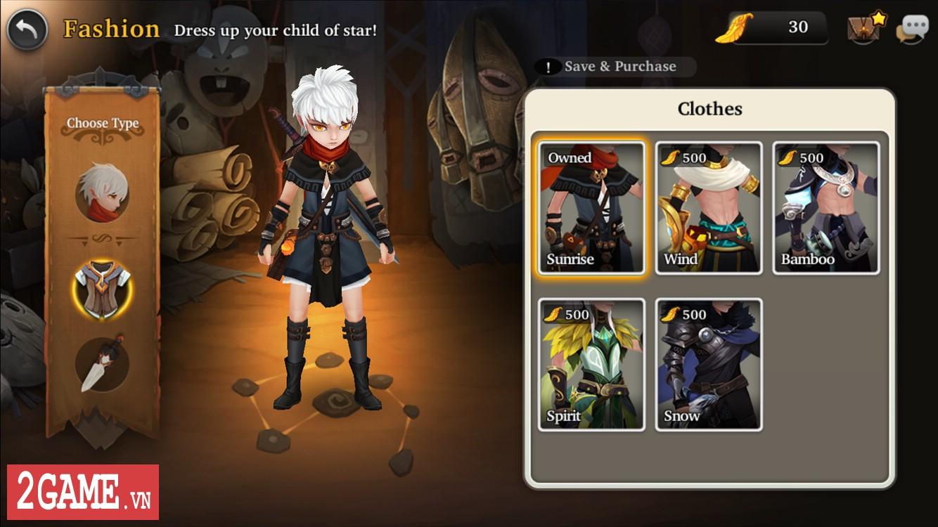 Child of Star - Game nhập vai đấu thẻ tướng có hình ảnh yêu vô cùng 4