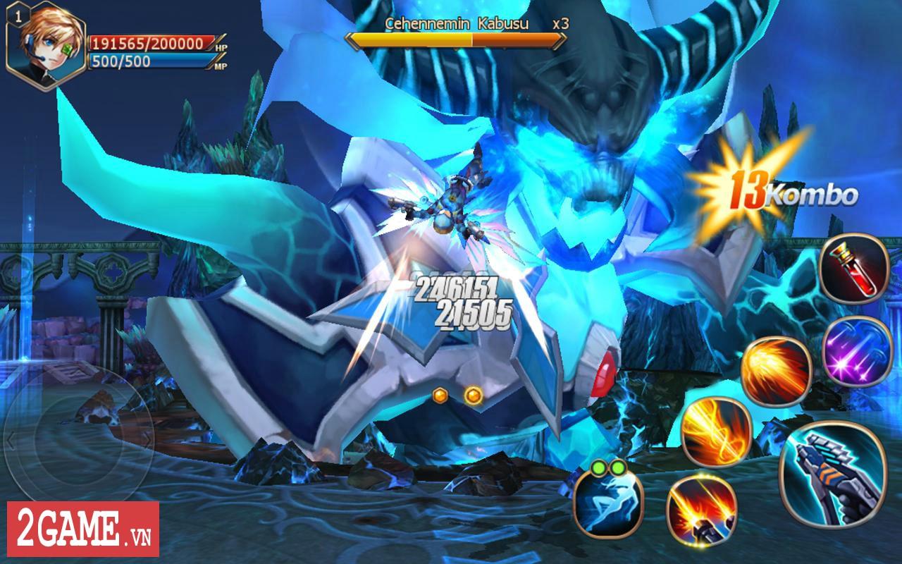 Sword of Chaos – Game nhập vai săn trùm cực khó mang phong cách đồ họa anime thân thiện 7