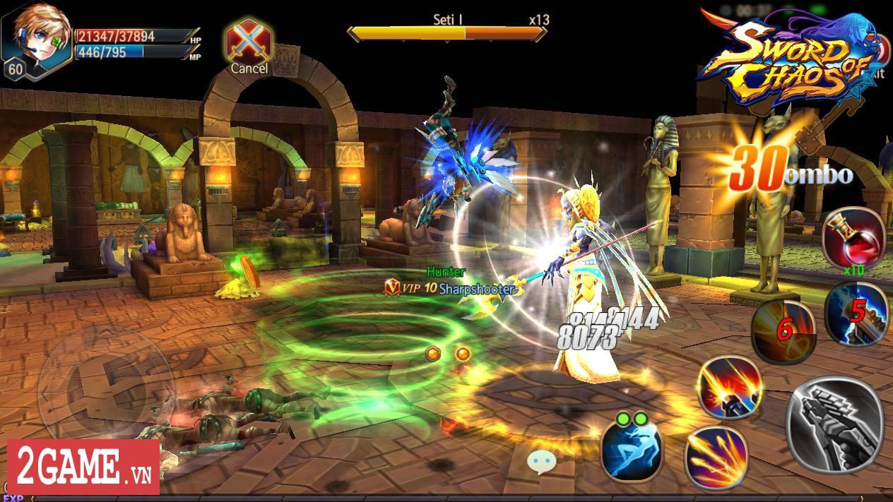 Sword of Chaos – Game nhập vai săn trùm cực khó mang phong cách đồ họa anime thân thiện 4