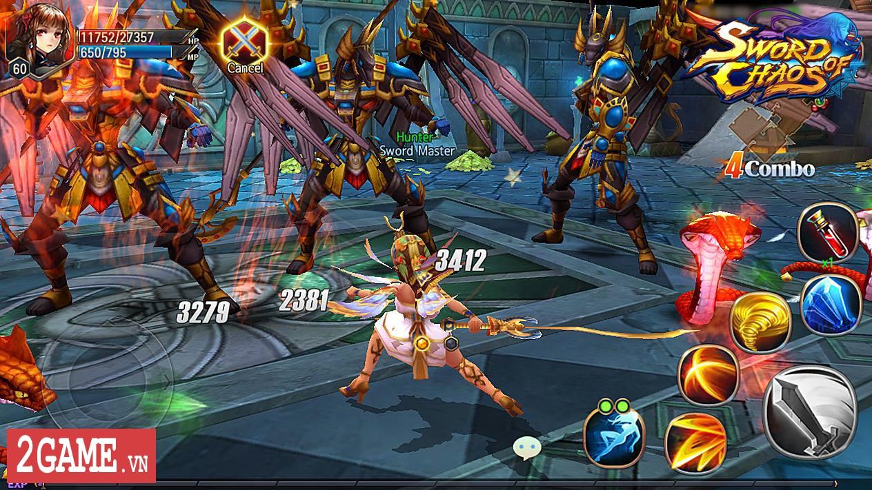 Sword of Chaos – Game nhập vai săn trùm cực khó mang phong cách đồ họa anime thân thiện 5