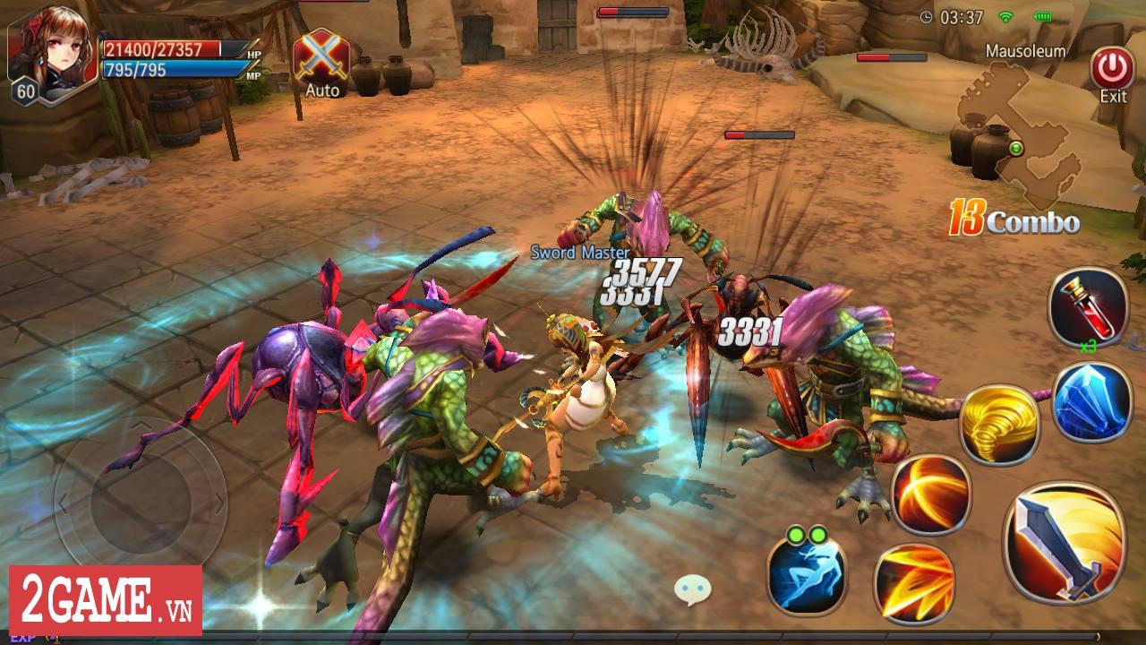 Sword of Chaos – Game nhập vai săn trùm cực khó mang phong cách đồ họa anime thân thiện 1