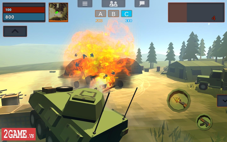 Crazy War – Trải nghiệm game mobile bắn súng sinh tử với phong cách đồ họa ngộ nghĩnh 2