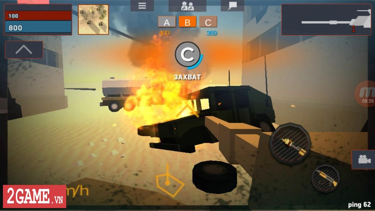 Crazy War – Trải nghiệm game mobile bắn súng sinh tử với phong cách đồ họa ngộ nghĩnh 3