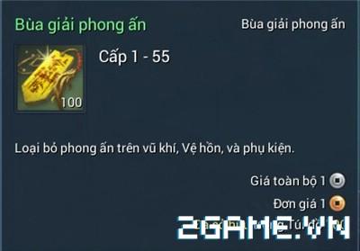 Blade and Soul Việt Nam - Bùa giải phong ấn 0