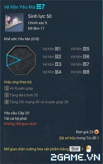 Blade and Soul Việt Nam - Bùa giải phong ấn 4