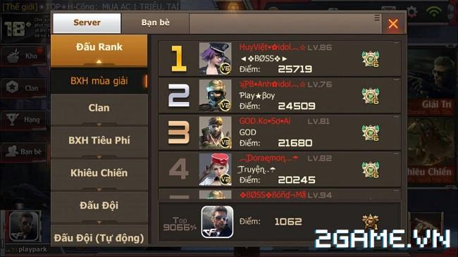 Crossfire Legends xuất hiện thánh cày với hơn 20.000 điểm rank 0
