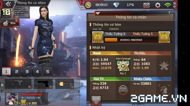 Crossfire Legends xuất hiện thánh cày với hơn 20.000 điểm rank 2