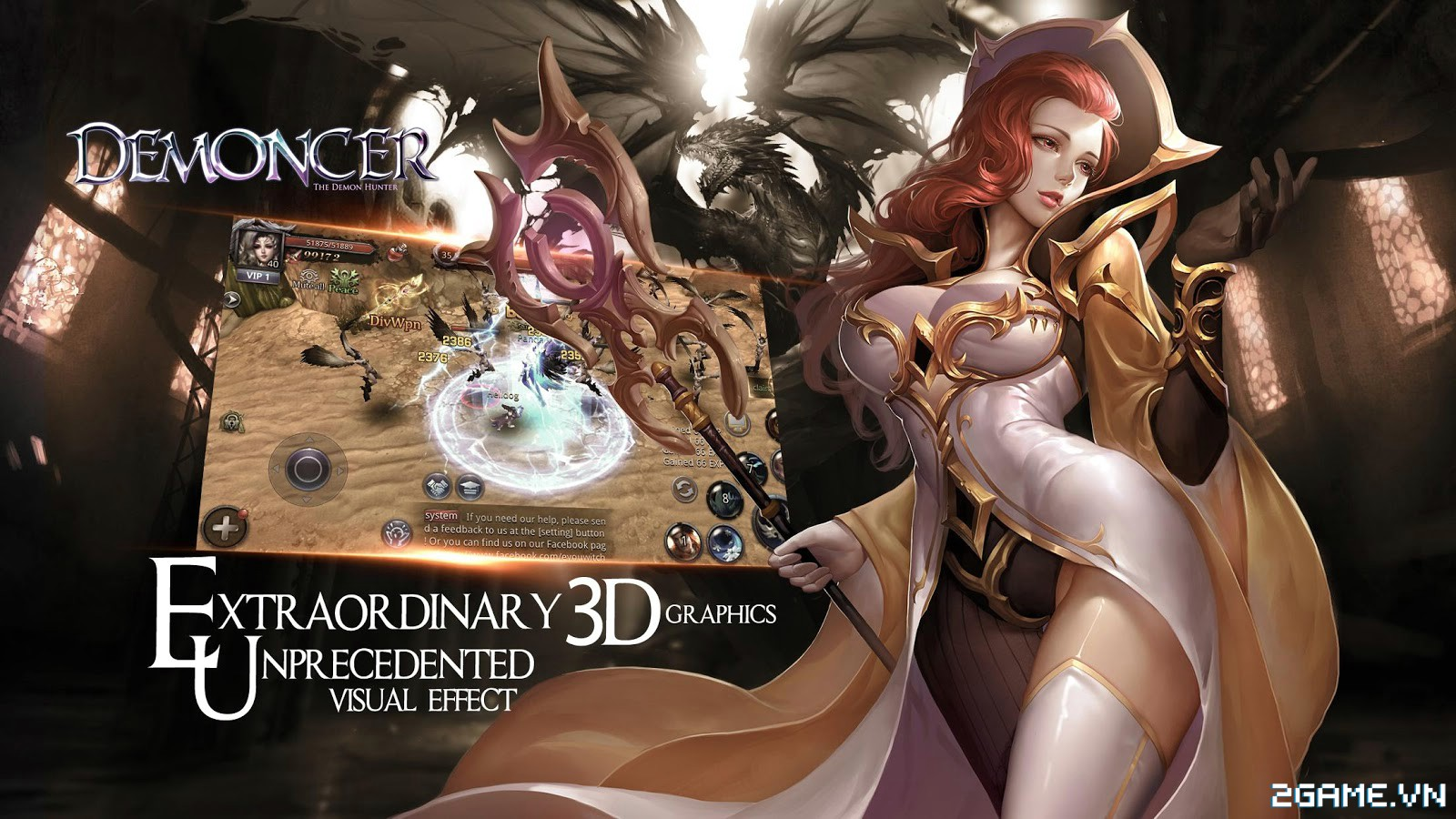 Demoncer: Game nhập vai đầy đủ tính năng dành cho dân ưa cày bừa 4