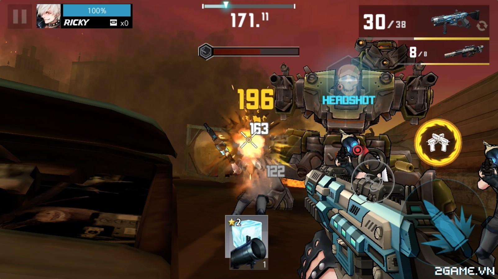 Wanted Killer: Game mobile bắn súng phong cách game thùng đầy chất chơi 0